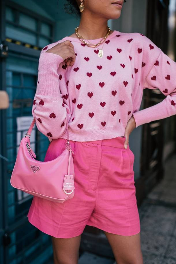 Sweter Roma Pink